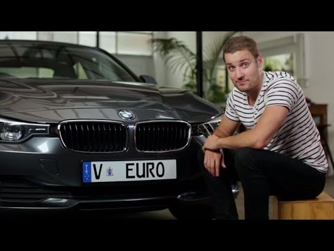 How to attach Euro plates with frames to your vehicle