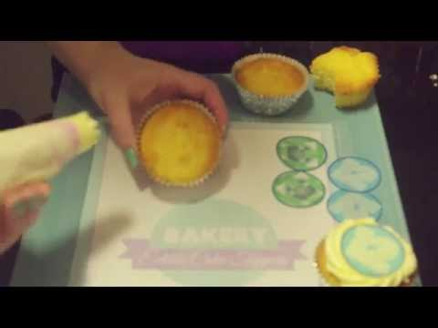 How to use wafer edible images on cupcakes