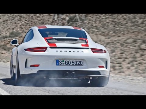 Porsche 911 R (2017) Official Test Drive