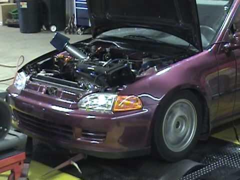 B20 Vtec 263 WHP 93 pump gas- Kingmotorsports