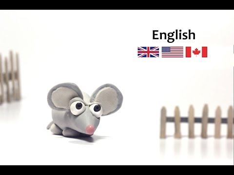 How to make a Clay Mouse - Adele the mouse - Clay animals