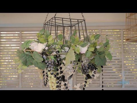 Arts & Crafts Tutorial: Grapevine Outdoor Hanging Lights