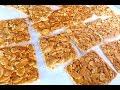 How To Bake Almond Flake Florentine Cookies 怎样烘杏仁麦芽片