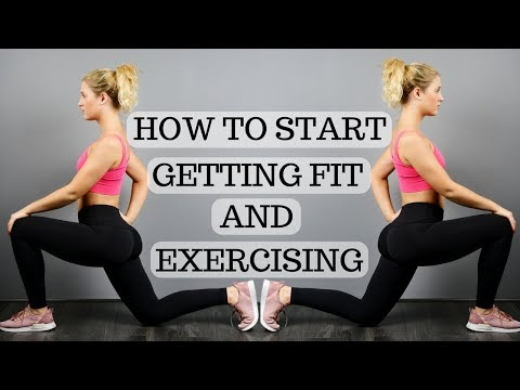 BEGINNERS GUIDE TO GETTING FIT || HOW TO START EXERCISING