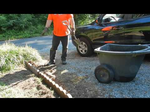 How to Install Landscape Scallop Edging