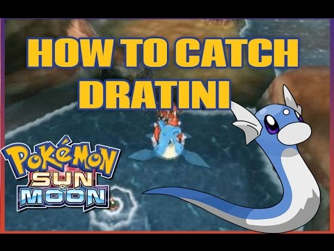 How to Catch DRATINI in Pokemon Sun and Moon!
