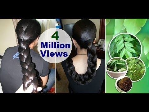 Homemade Oil for Faster Hair Growth and to Stop Premature Greying and Dandruff Treatment