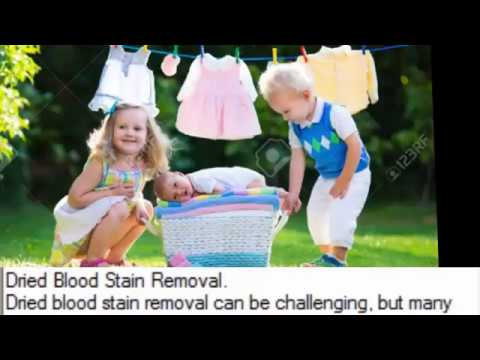 Dried Blood Stain Removal - Ways to Remove Dried Blood Stains from Fabric - Cleaning