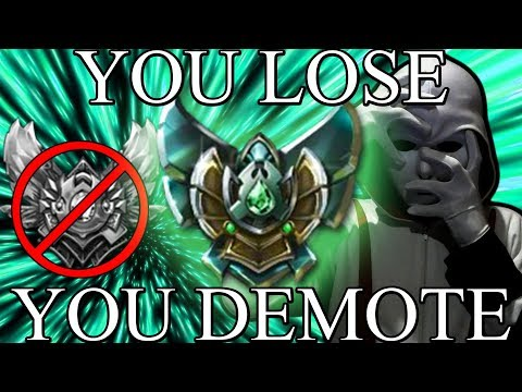 Diamond 1 Player But Everytime He Loses He Gets Demoted