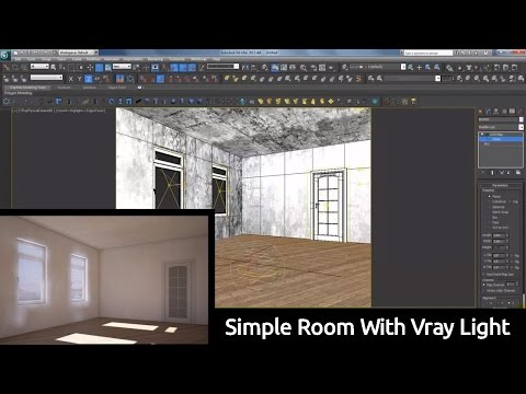 Simple Room With Vray Light