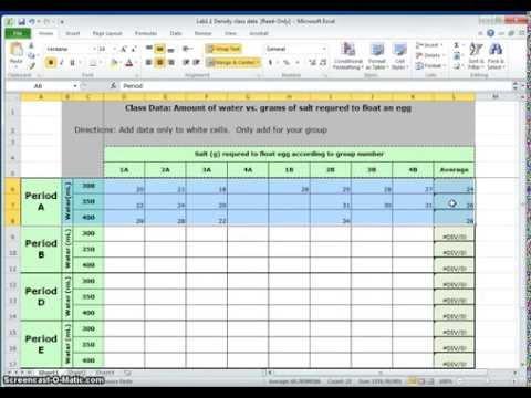 Analyzing Data- Line Graphs