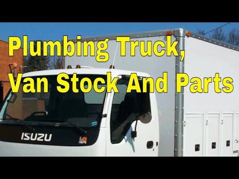Plumbing Truck Van Stock And Parts 👍👍👍