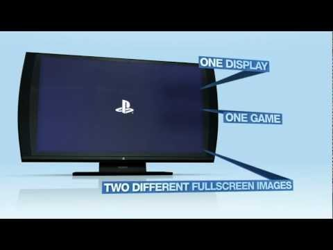 Sony 3D TV Monitor