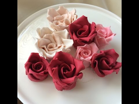 How to make Gumpaste Roses: Quick and Easy!