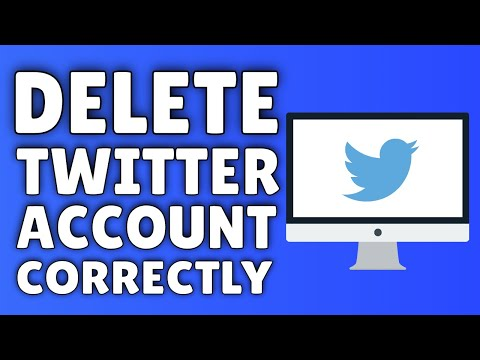 How To Delete A Twitter Account