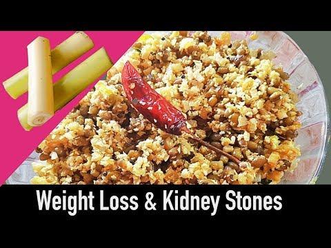 Banana Stem & Green Moong Dal Poriyal | Easy Vazhappindi Cherupayar Thoran | Healthy High Fiber Food