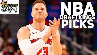 3/26/18 NBA DRAFTKINGS PICKS / YAHOO TOP 5