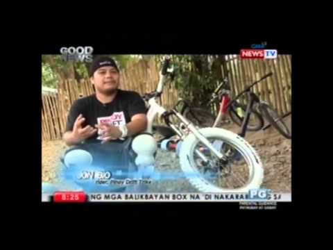 Pinoy Drift Trikes at The Good News with Vicky Morales