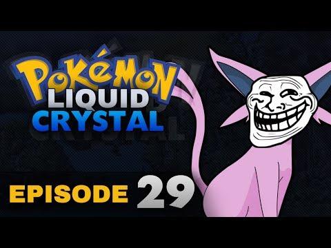 Pokemon Liquid Crystal w/Live Facecam Episode 29 - Ice Path & The Trolling Espeon!