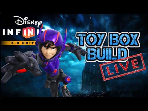 Building Time's Castle! - Disney Infinity 3.0 - Toy Box Build Live