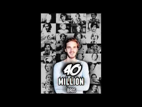 PewDiePie - 40 Million Bros Tumblr Edit Tutorial