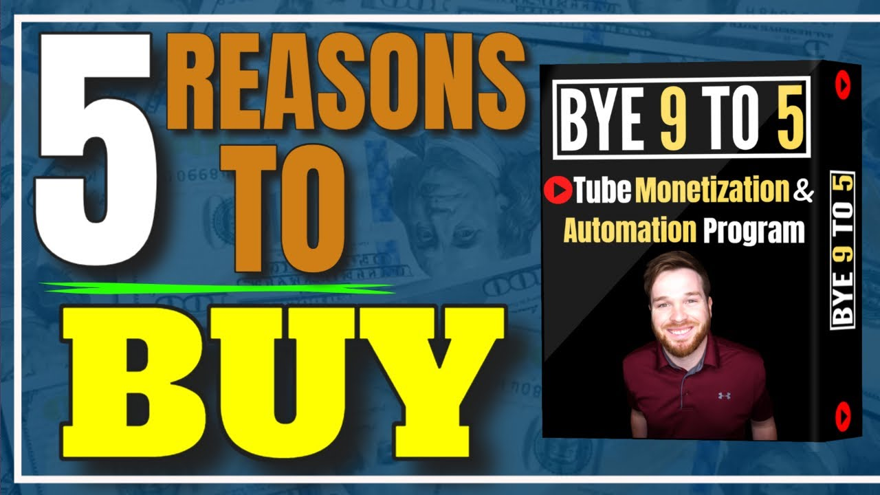 Bye 9 to 5 Course Review ▶️ JORDAN MACKEY COMPLETE YOUTUBE MAKE MONEY ONLINE PROGRAM Reasons To Buy