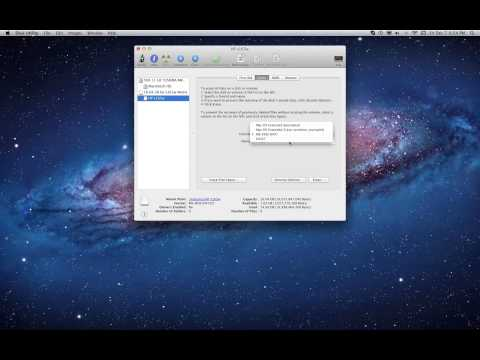 Formatting a Mac and PC compatible external hard drive Tutorial