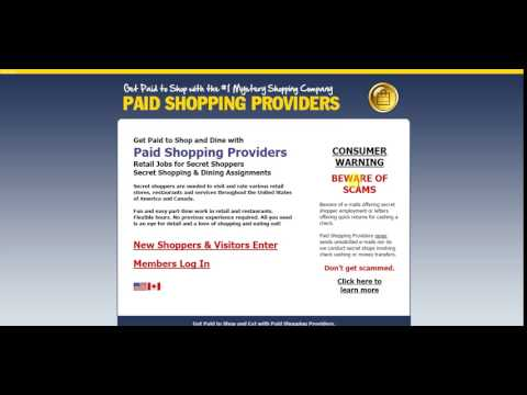 Paid Shopping Providers Review