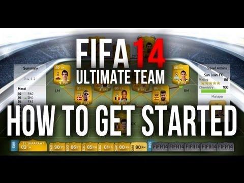 FIFA 14 | Ultimate Team Web App Tutorial & 4 Pack