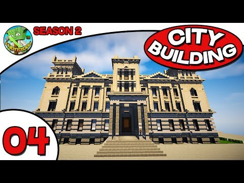 Minecraft City Building S204 - TOWN HALL!