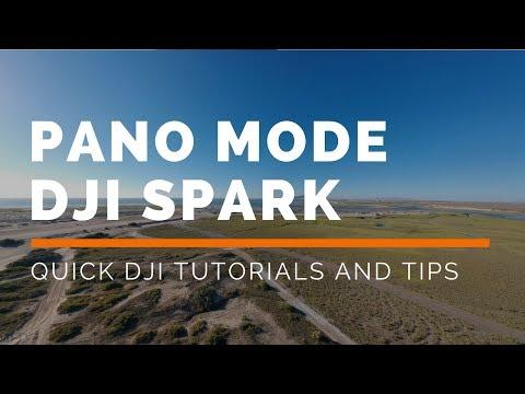 DJI Spark: How To Use Panoramic Mode