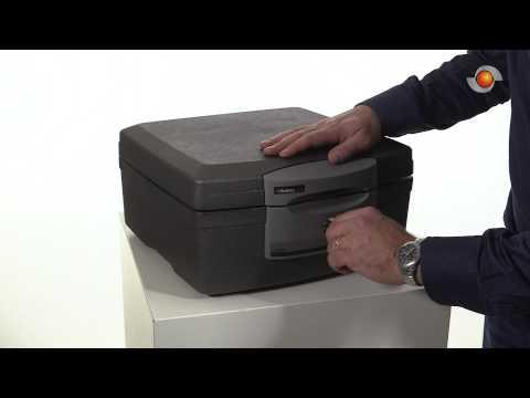 SentrySafe F2300 brandwerende box - 1 uur brandveiligheid | KluisShop.be