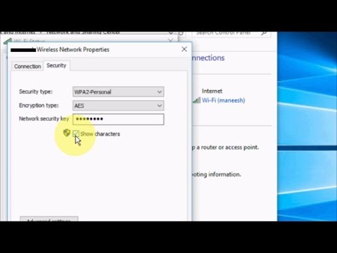 How to Hide Wifi  Password  on Laptop Windows 10/8/7