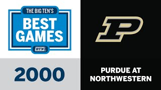 2000 Purdue at Northwestern | Big Ten Football | The Big Ten