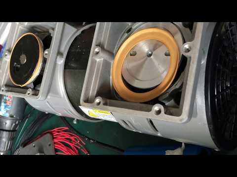 how to clean the vacuum pump