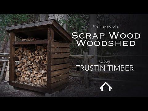 Scrap Wood Woodshed