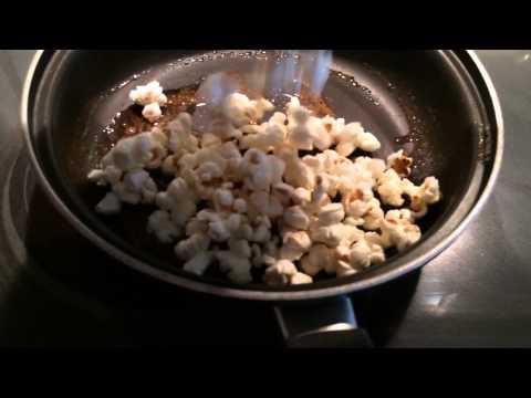 Craving! Caramel Corn Cooking Homemade Sweet Popcorn Snack by GemFOX Food