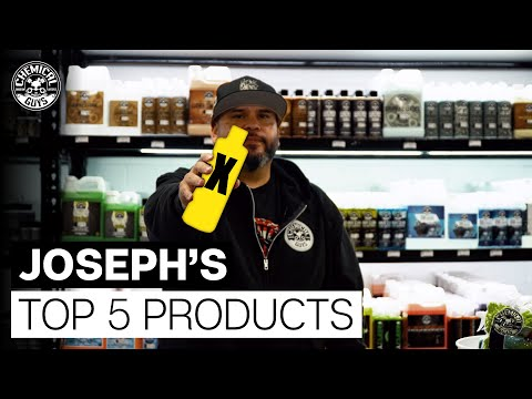 Joseph's TOP 5 Favorite Detailing Products! - Chemical Guys