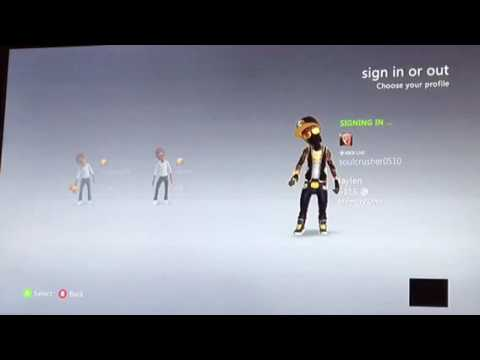 How to get in Xbox 360 account without password (probably patched)