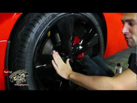 How To Detail Black Wheels - Chemical Guys BLACK ECOSMART TRIM GEL - EPIC CAR CARE