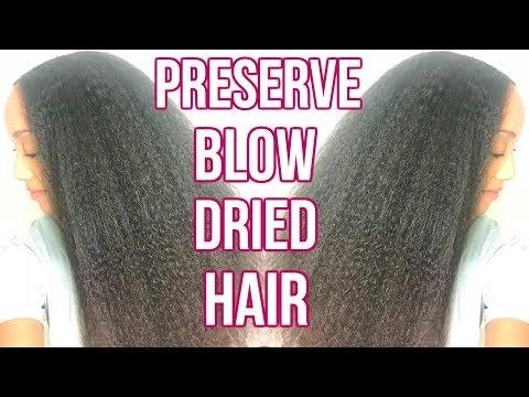 SUPER EASY Night Routine Natural Hair   Hair Care for Natural Hair