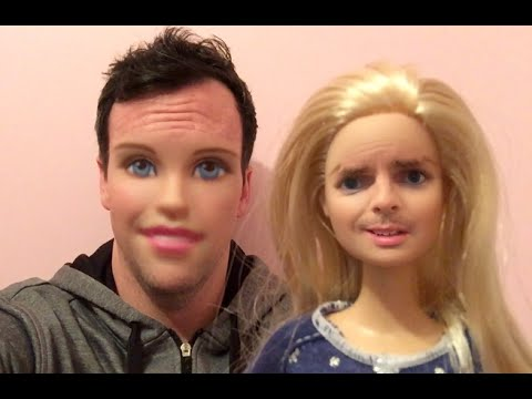 MAN BECOMES A BARBIE DOLL