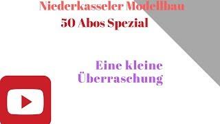 50 Abonnenten Spezial mit Tyros Ralli, der eine Spur N Modulare Anlage auf ZWEI  Ebenen baut
