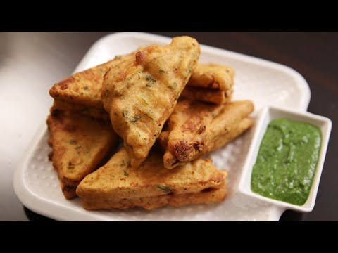 Bread Pakora Recipe | Easy To Make Snack Recipe | Ruchi's Kitchen