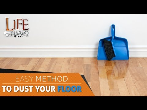 How to clean fine dust from your floor?   Life Hacks