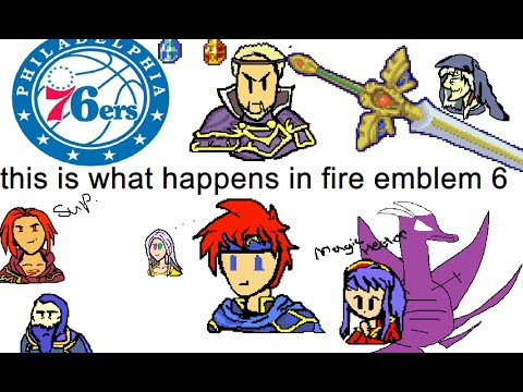 This is what happens in... Fire Emblem: Binding Blade [FE6 Plot Review]
