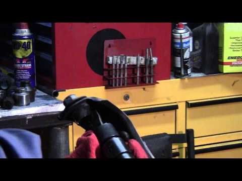 How to remove upper control arm bushings on a Chevelle, Camaro, Nova, Gm cars
