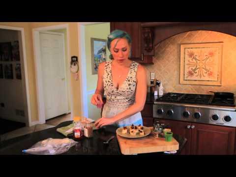 Frozen Banana, Honey Chocolate Chip Dessert (Gluten Free Recipe)