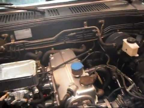 PART TWO:: Mazda b2000 How to, with 2.2L , Weber Carb & Pacesetter Header...