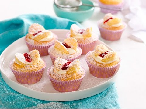Easy recipe: How to make vanilla butterfly cupcakes